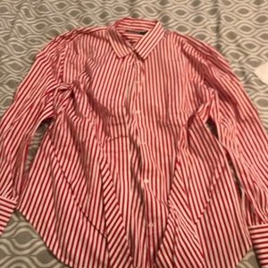 Lauren by Ralph Lauren Stripes Womens Top